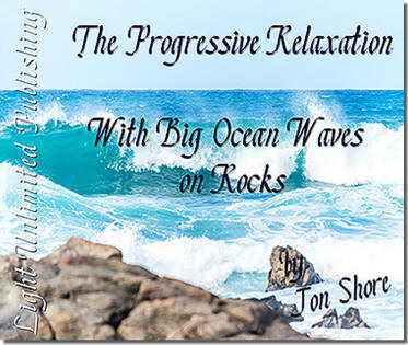 Progressive Relaxation with Big Ocean Waves on Rocks by Jon Shore